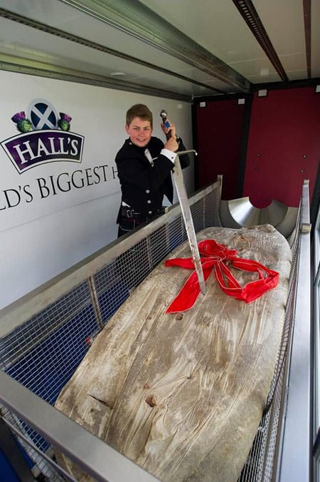 Haggis, Royal Highland Show