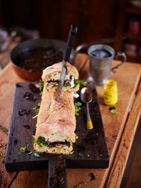 Pigeon Sandwich
