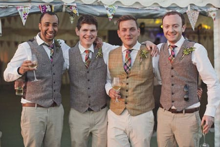 Tweed Summer Wedding