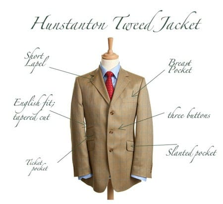 Bladen Hunstanton Tweed Jacket