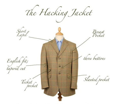 Magee Tweed Hacking Jacket