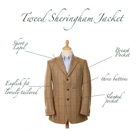 Bladen Sheringham Tweed Jacket
