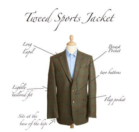 Magee Tweed Sports Jacket