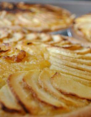 Canterbury apple tart