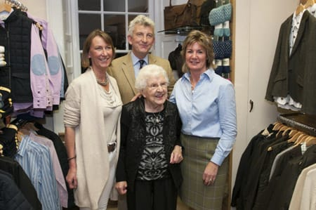 Morag Salvesen (Archie's Sister), Archie Hume, Karen Hume and Mrs. Barbara McLeod