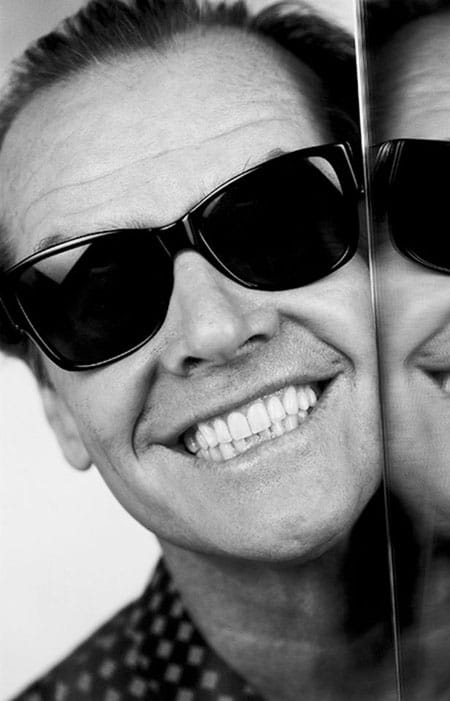 Jack Nicholson Smiling