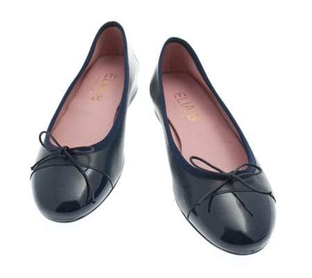 Elia B Ludovica Flat Leather Ballet