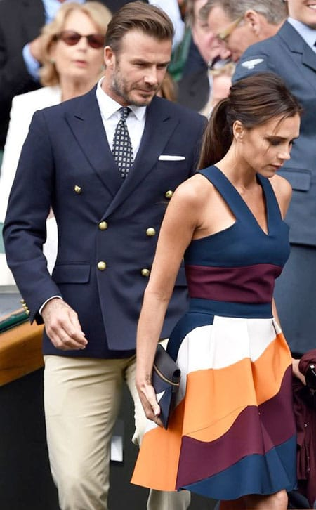 David and Victoria Beckham Image source: Pinterest