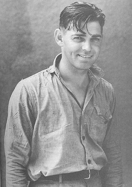 Clark Gable, 1901 Image source: Pinterest