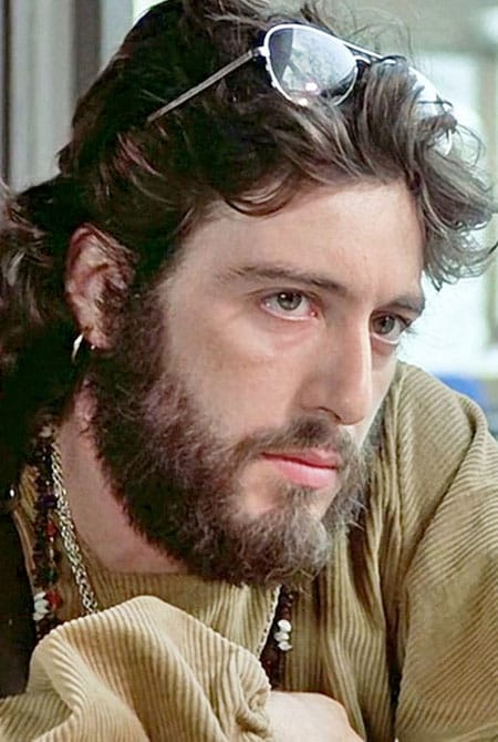 Al Pacino in Serpico. Image source: Pinterest