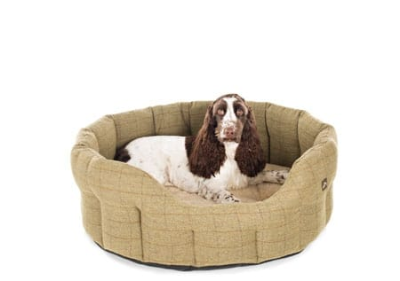 country-and-twee-tweed-dog-bed