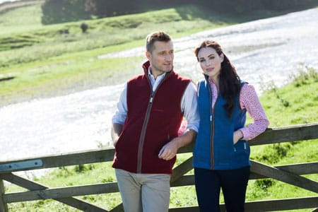 Schoffel Oakham Gilet and Lyndon Gilet at A Hume