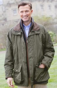 Schoffel Ptarmigan Ultralight Coat - the definitive shooting coat.
