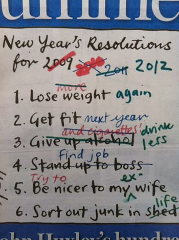 New Year's Resolutions: How to Keep Them