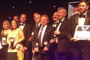 A Hume Winner – Customer Service Excellence,  The Herald Scottish Family Business Awards