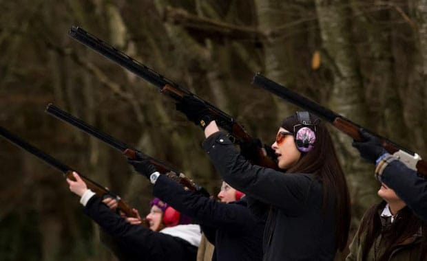 Ladies Clay Day at Roxburghe Shooting School
