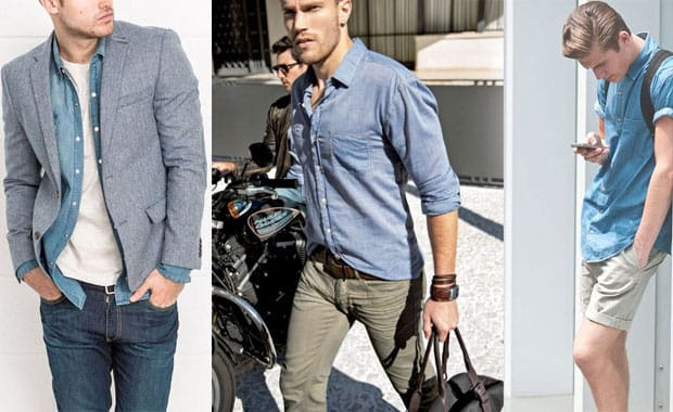 The Denim Shirt: One Shirt – Three Ways