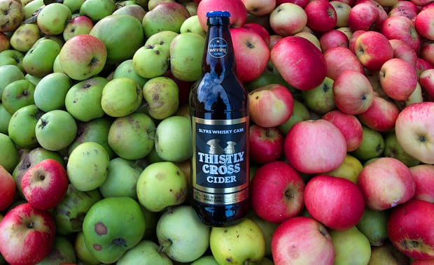 National Apple Day – Secret Cider Maker/Bottle for a Bucket