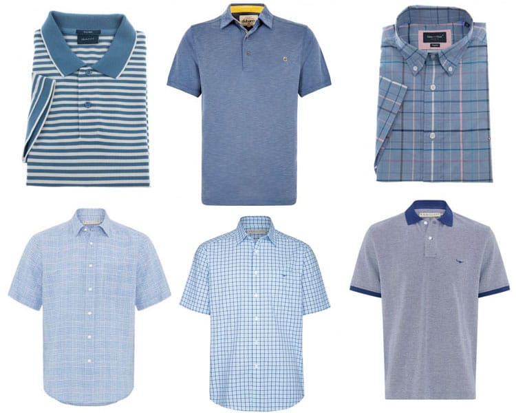 9286f0bb7a25f From top left: Gant Stripe Pique Rugger, Dubarry Elphin Polo Shirt, Eden  Park Zephir Checked Shirt, RM Williams Hervey Linen Shirt, RM Williams  Hervey ...