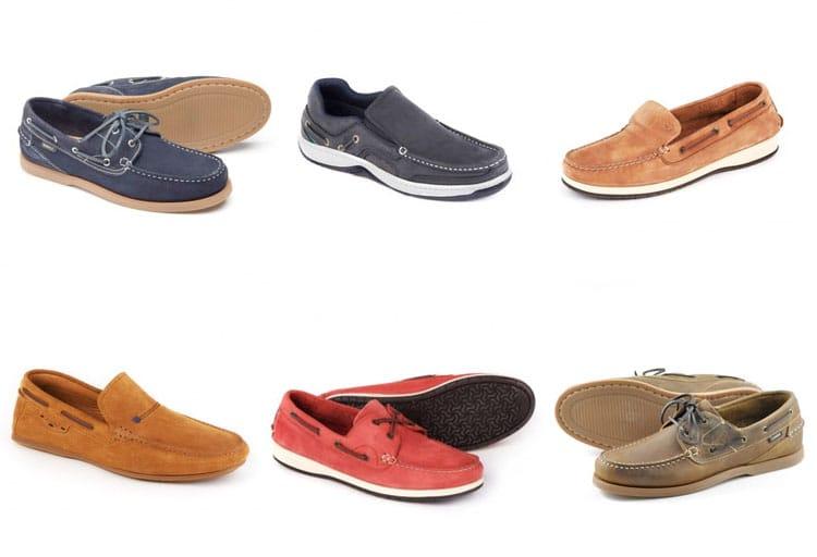 b8a8fb1fc0392 From top left: Loake Lymington Suede Boat Shoes, Dubarry Yacht Shoes,  Dubarry Marco X LT Deck Shoe, Dubarry Tobago Loafer, Dubarry Pacific X LT  Deck Shoe ...