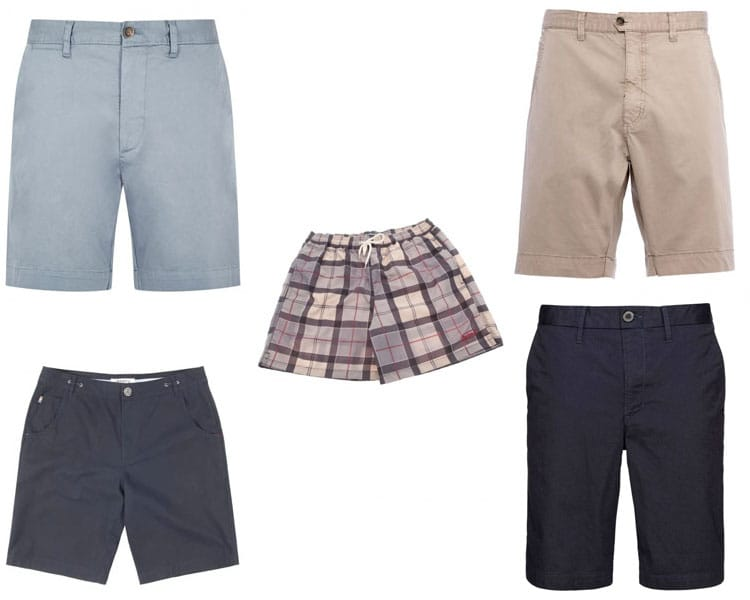 eb357508f6e71 From top left: Dubarry Delphi Shorts, Dubarry Skerries Shorts, Barbour  Lomond Tartan Shorts, Dubarry Erne Shorts and RM Williams Scarborough  Shorts.