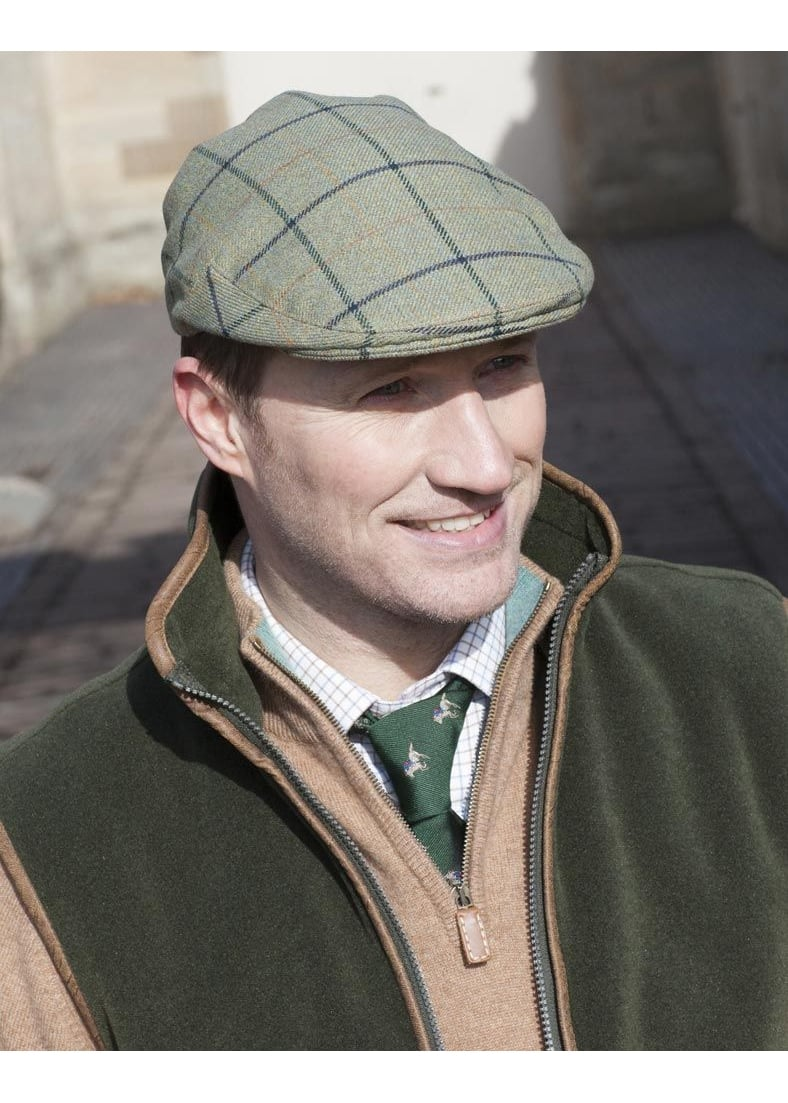 A Hume Buchtrig Tweed Cap Large Image