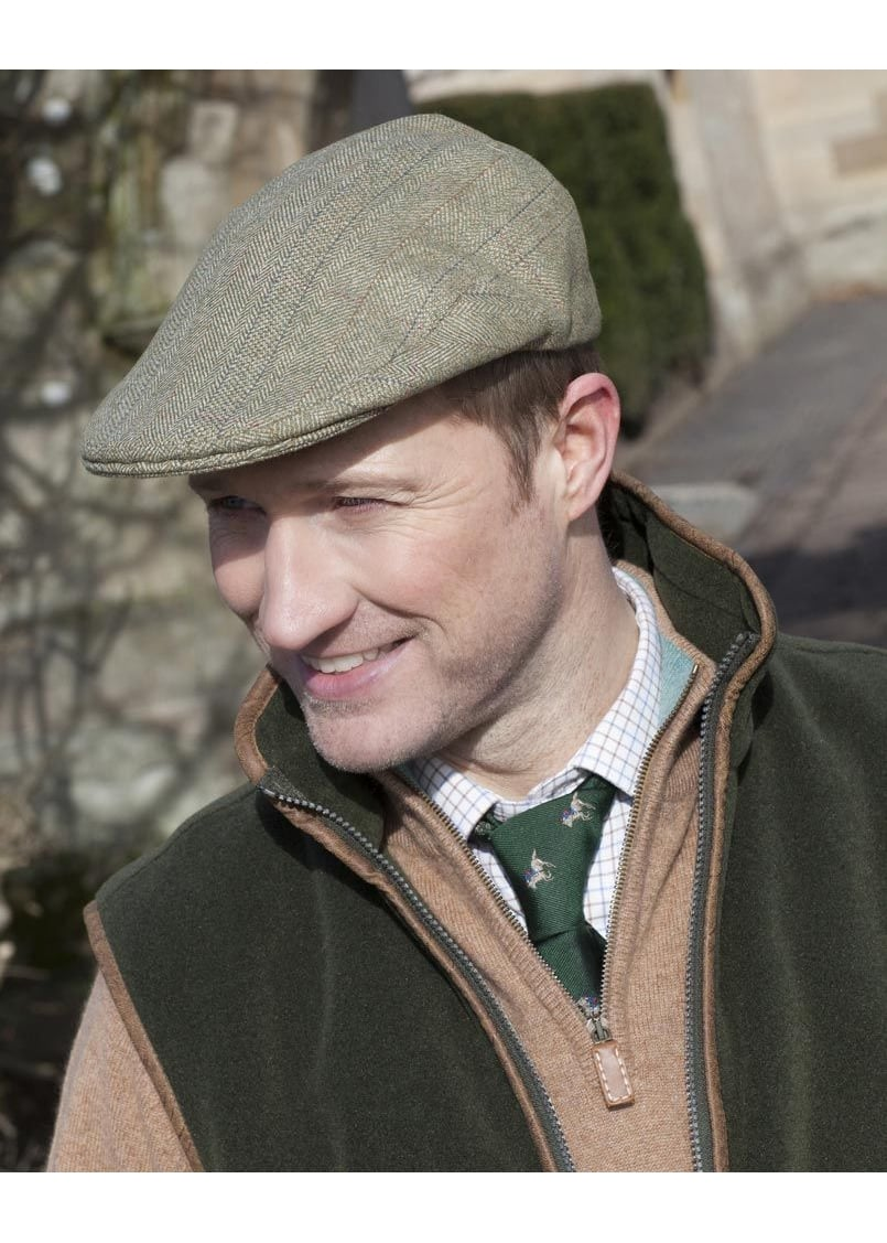 A Hume Deanfoot Tweed Cap Large Image