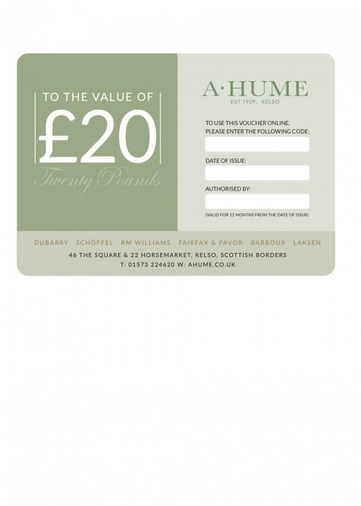 A Hume Gift Voucher