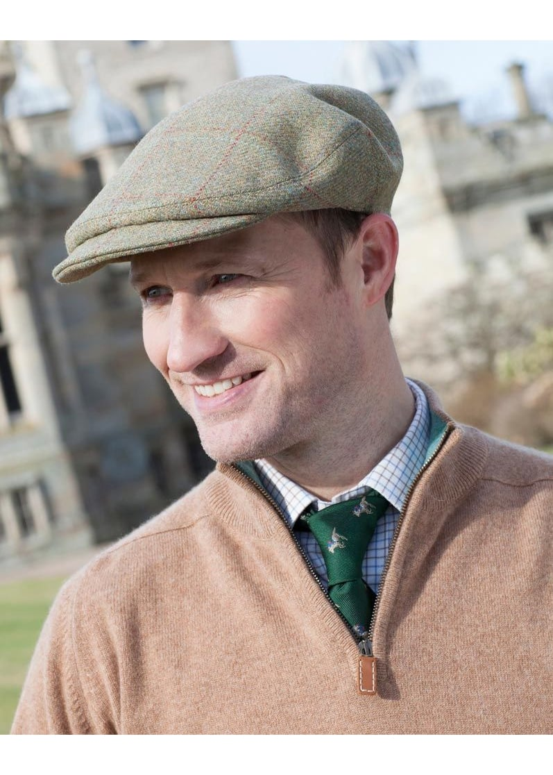 8a47191d A Hume Lambden Turnberry Tweed Cap - Mens from A Hume UK