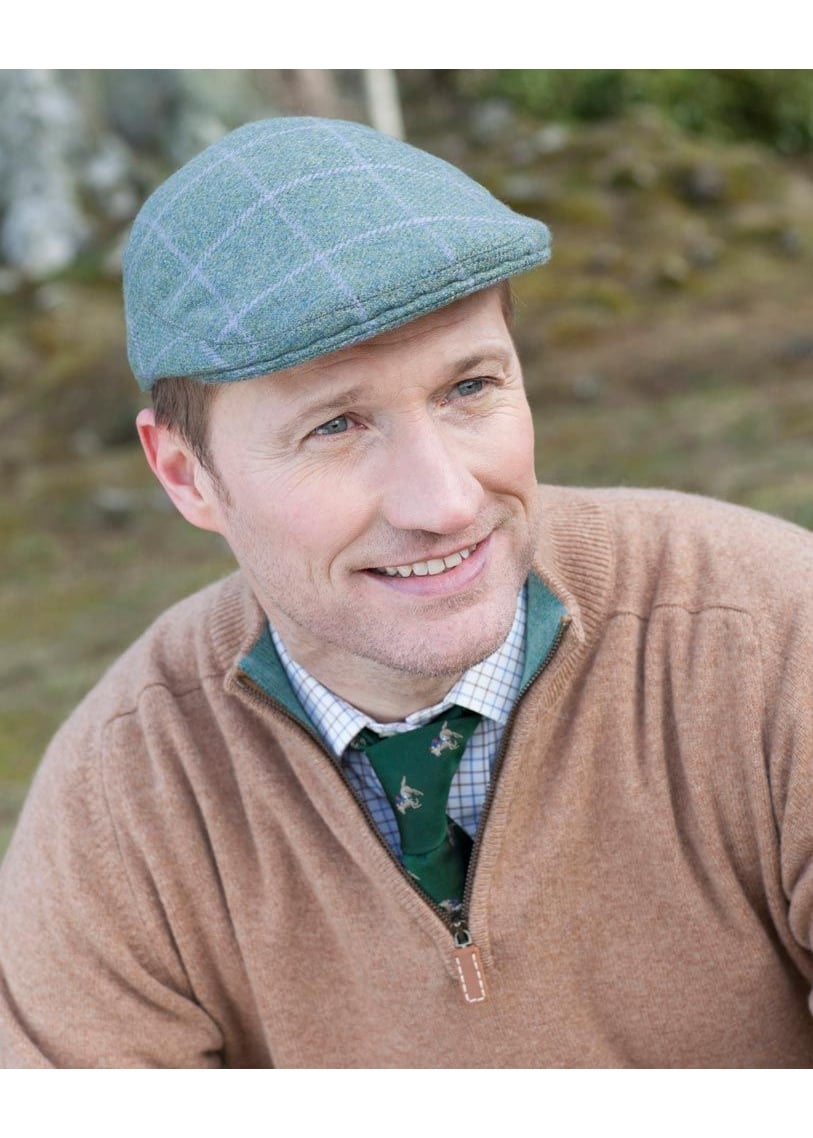 A Hume Sourhope Cashmere Cap Large Image
