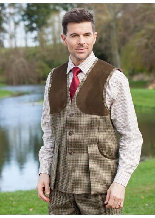 Laksen Ainsley Tweed Shooting Vest