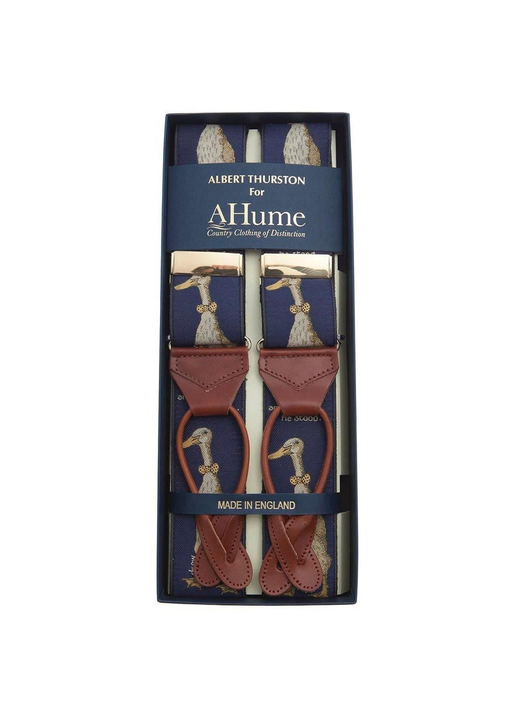 Albert Thurston Tall Duck and Handsome Design Braces  Large Image