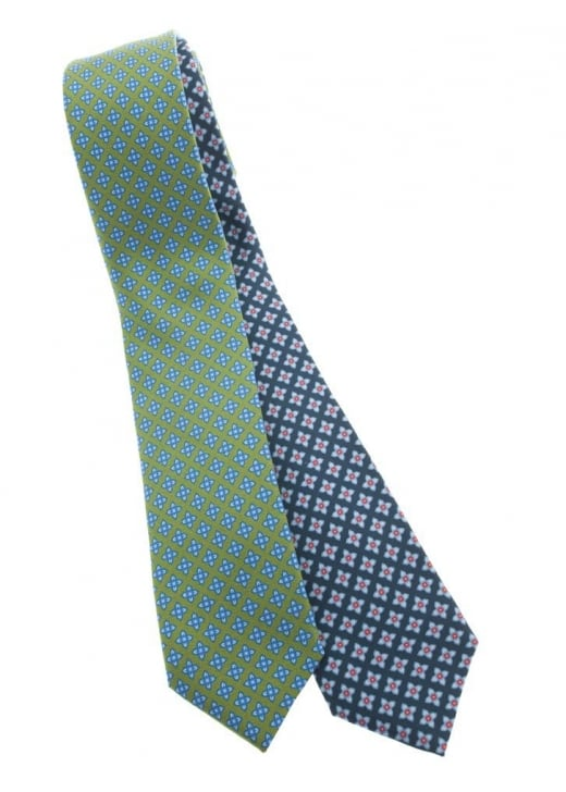 Altea Celtic Flower Silk Tie