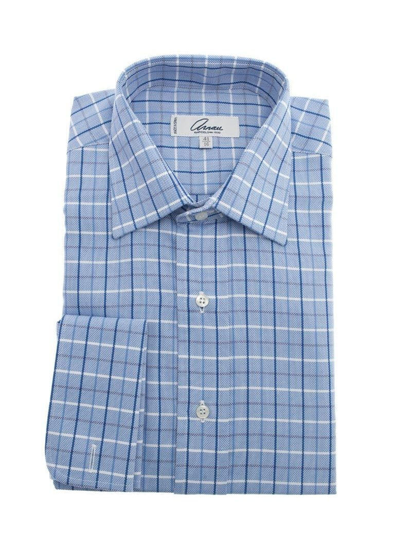 Arnau Checked Shirt Large Image