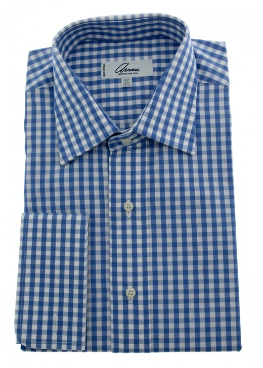 Arnau Large Gingham Check Shirt