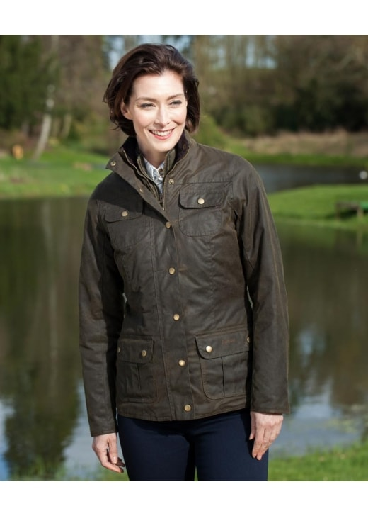 Barbour Ashley Wax Jacket