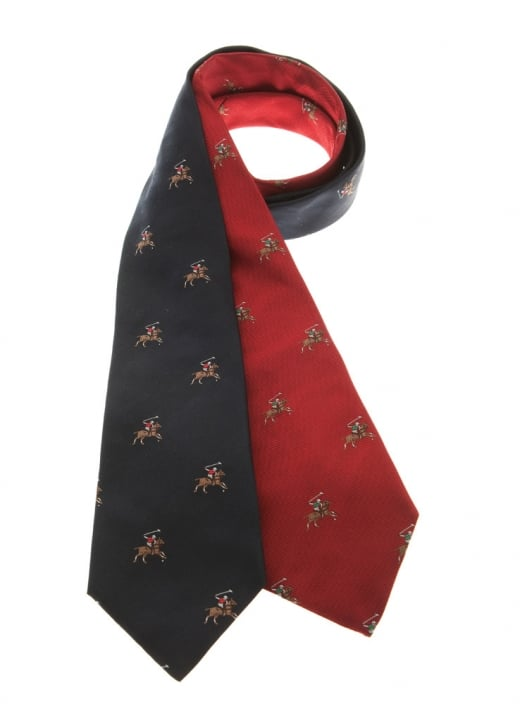 Atkinsons Polo Players Silk Tie