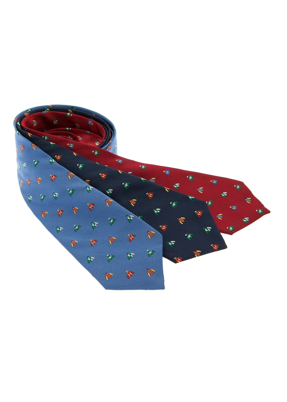 Atkinsons Racing Silks Silk Tie Large Image