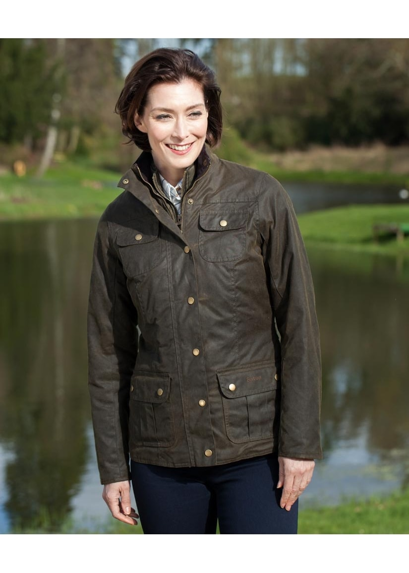Barbour Ashley Wax Jacket Ladies From A Hume Uk
