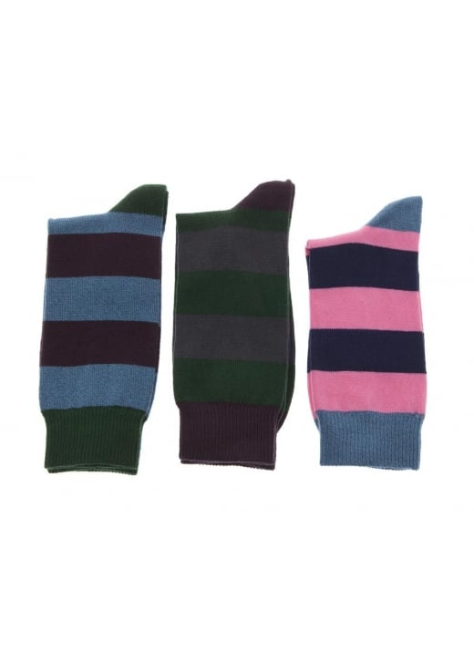 Barbour Harrow Stripe Socks