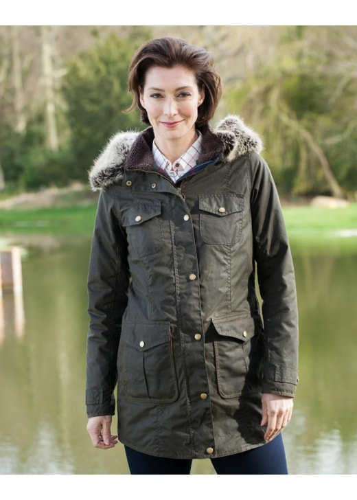 Barbour Helsby Wax Jacket