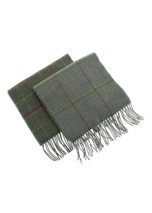 Barbour Newmarket Plaid Scarf