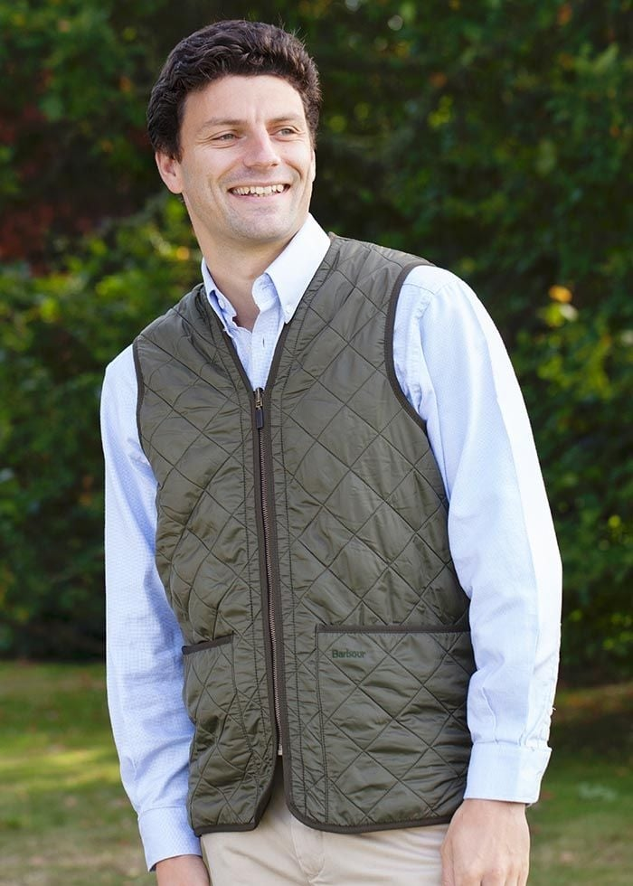 Barbour Polarquilt Zip in Waistcoat  Large Image