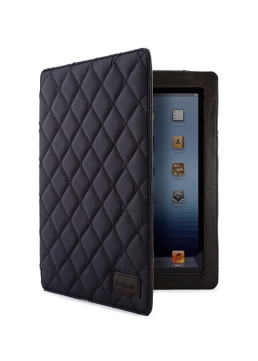 Barbour Quilted Folio Case for Apple iPad 3  Large Image