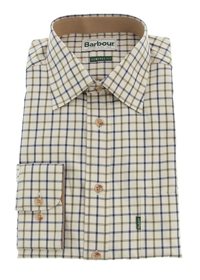 Barbour Sporting Tattersall Check Shirt  Large Image