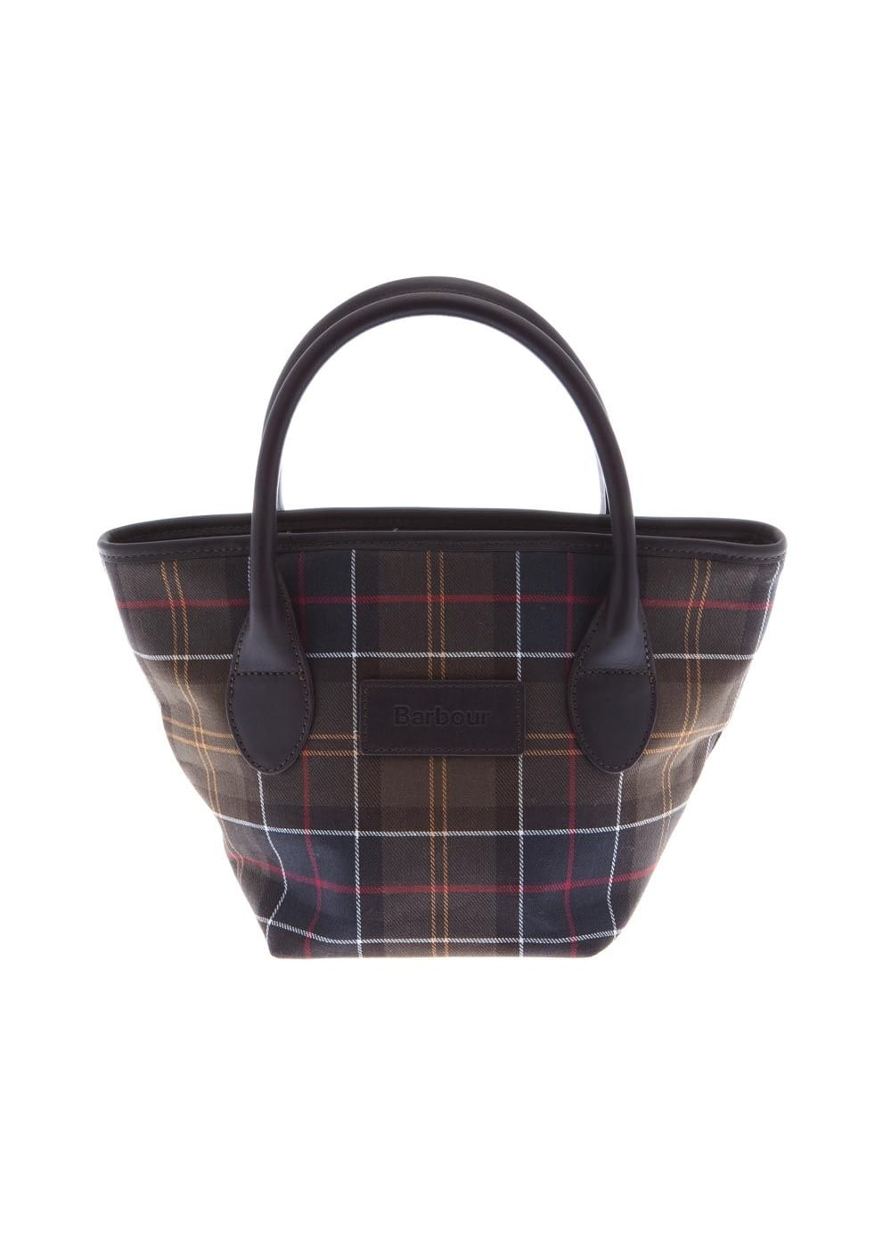 Barbour Tartan Tote Bag Large Image