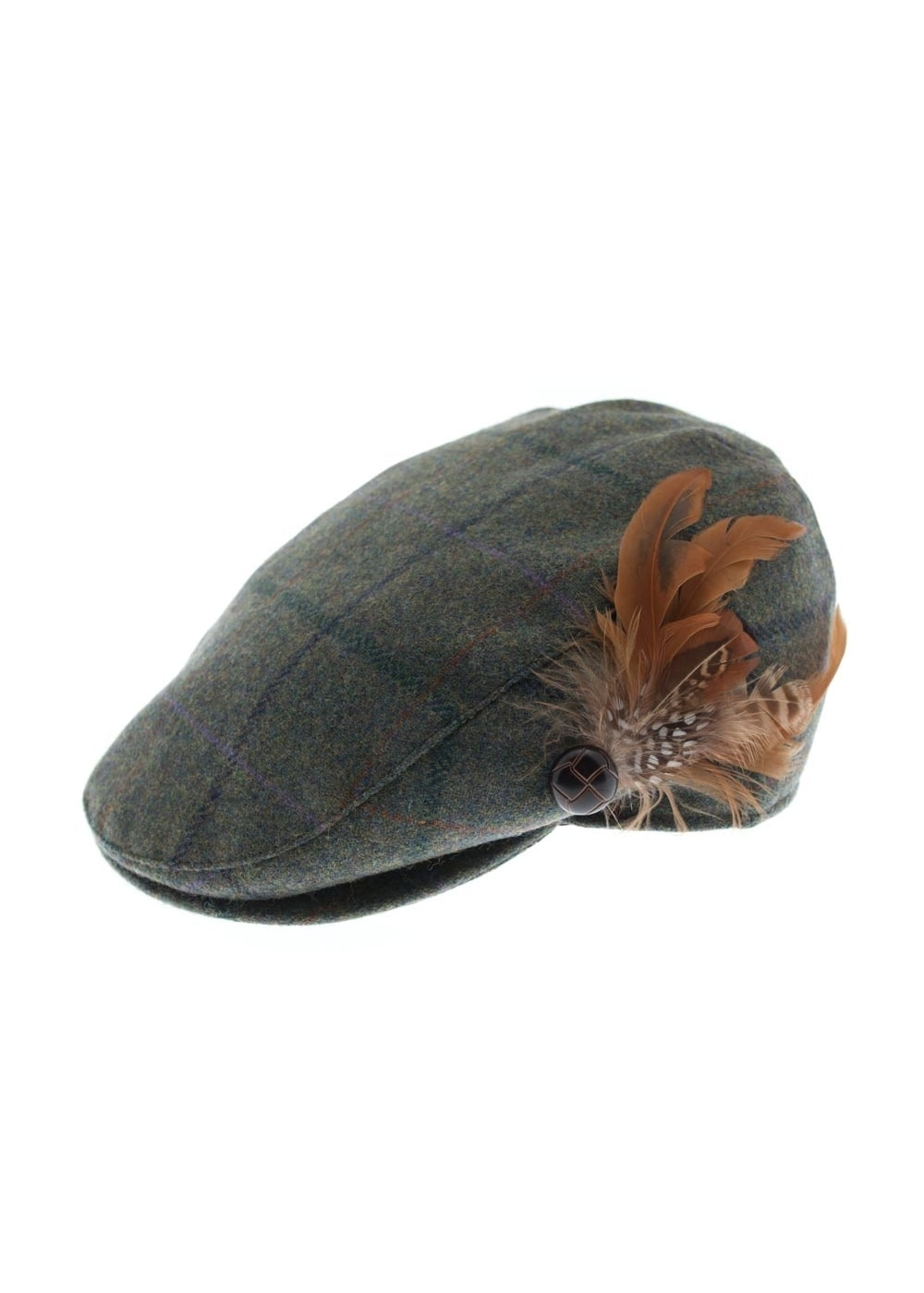 ed4dbeb0d44 Barbour Tweed Flat Cap - Ladies from A Hume UK
