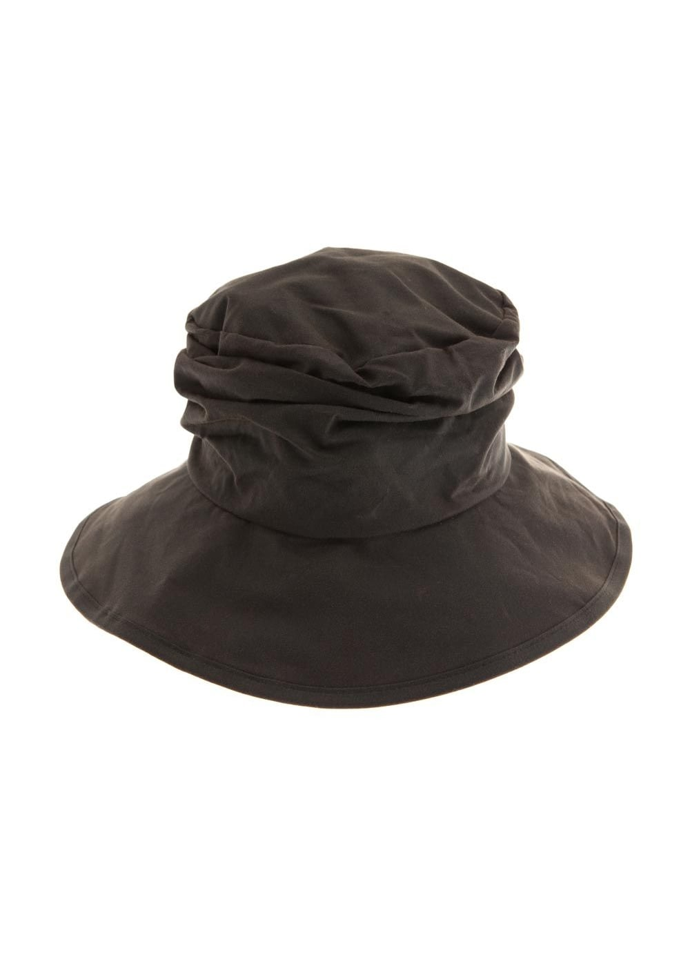 Waxed barbour westoe hat