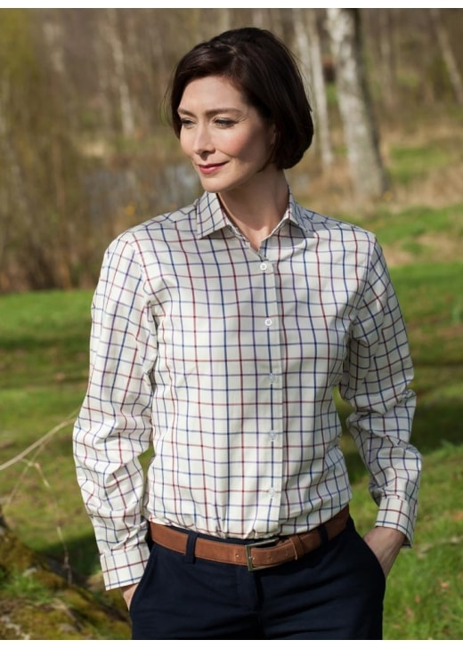 Laksen Becca Window Check Shirt