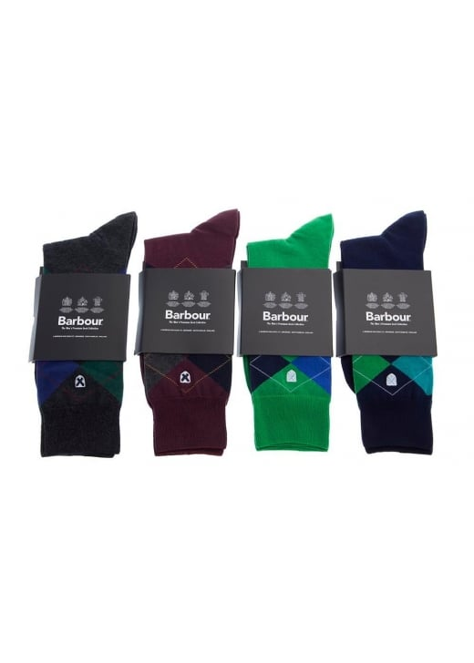 Barbour Birtley Argyle Socks